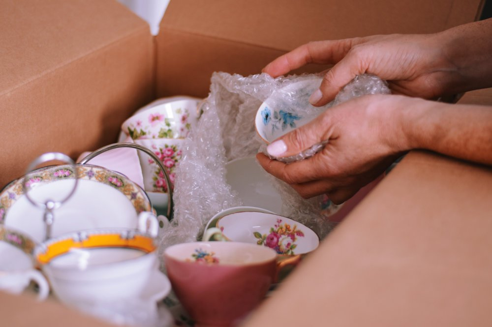 Getting rid of things that no are no longer important is an important aspect of downsizing